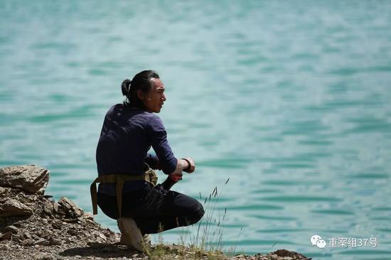 ▲ 2017年9月,刘银川在阿里地区。