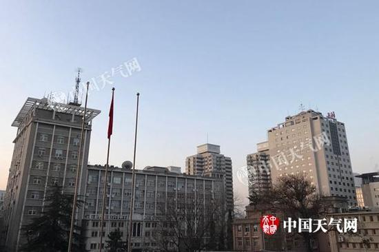 今晨,北京再迎好天。