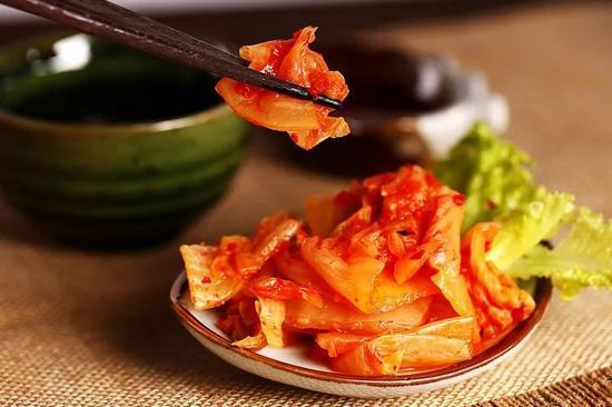 2017年韩国泡菜进口量的99%来自中国