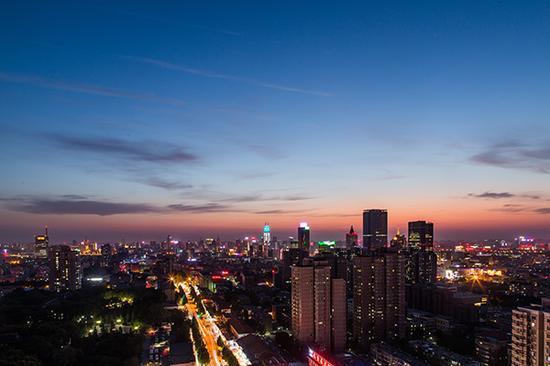 济南历下区。视觉中国 资料
