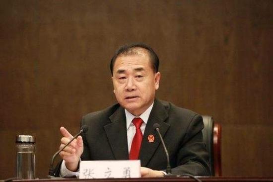 河南省高级人民法院院长张立勇 资料图