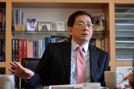 准台湾大学校长管中闵遭控论文抄袭,校方回应:不成立。(图片来源:台湾《旺报》)