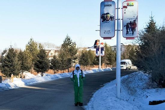 从哈尔滨来打寒期工的学生。摄影:刘成伟