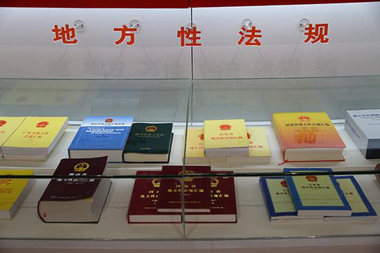 法工委今年将推动审查研究地方政府规章。视觉中国 资料