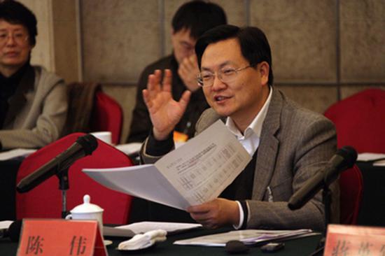 曾经担任枣庄市委书记的陈伟(图片来源于网络)。