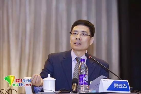 全国人大代表、海尔集团总裁周云杰 中国青年网 图