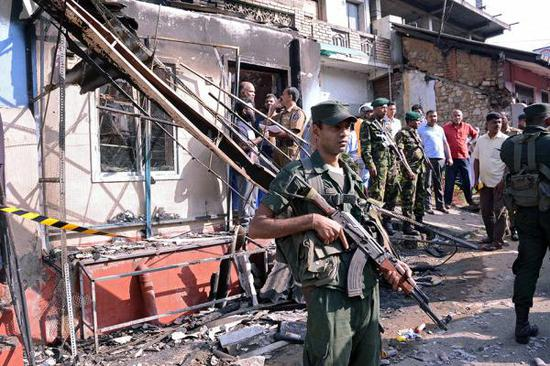 斯里兰卡政府6日宣布为期10天的紧急状态。视觉中国 图