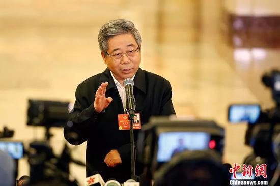 教育部部长陈宝生。 中新社记者 卞正锋 摄