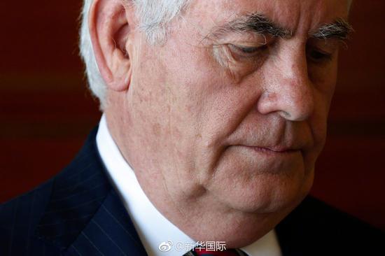 美国务卿蒂勒森在非洲访问时累倒 因操劳