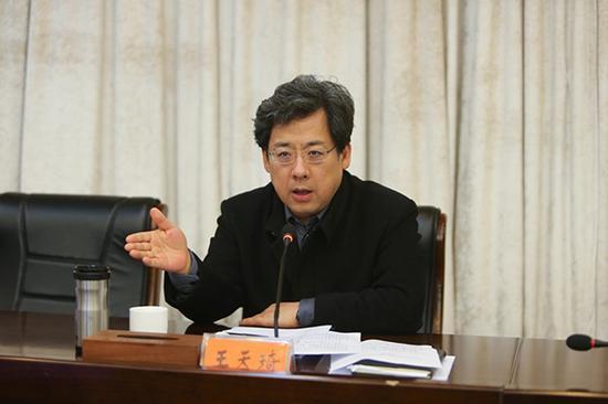 王天琦 宿迁市人民政府网站 资料图