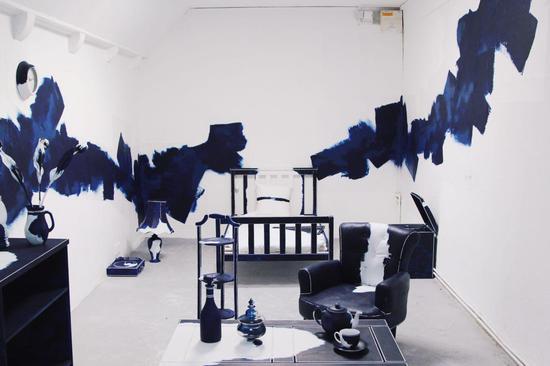王天佑作品:D房间(第一版),混合材料,2016