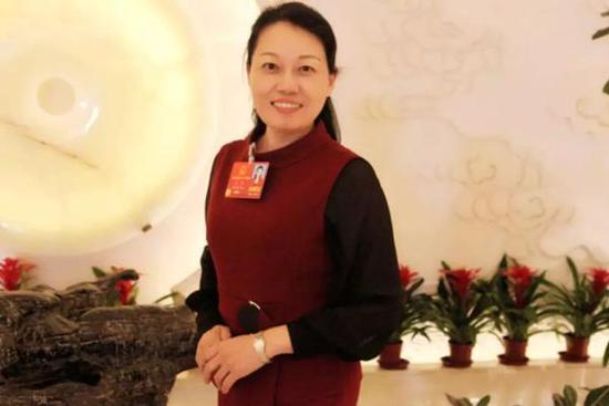 全国人大代表、陕西省律师协会副会长方燕  西安政协微信公号 图