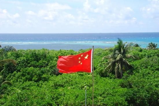 ▲西沙群岛岛屿珊瑚岛(视觉中国)