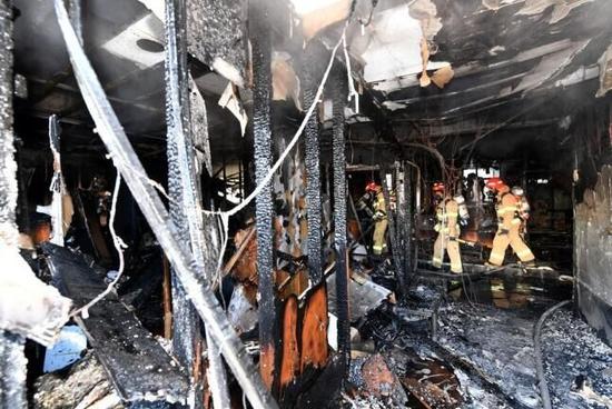 韩医院火灾致37死143伤 政府被指应对不善