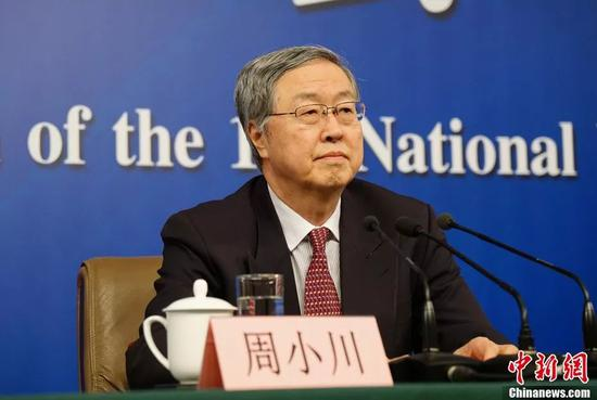 中国人民银行行长周小川。中新社记者 李卿 摄