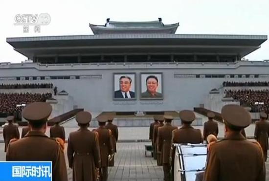真人娱乐注册:朝鲜民众集会_誓言跟随金正恩建设社会主义强国