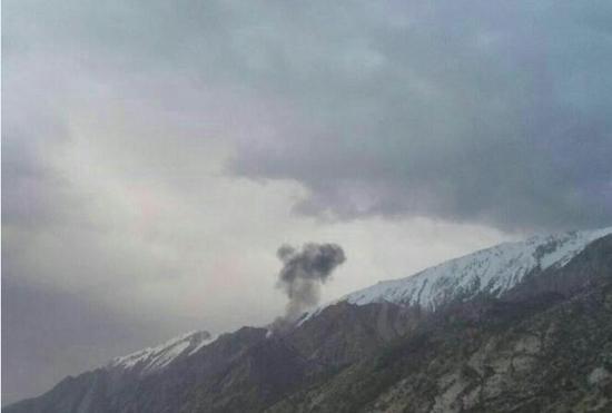 土耳其一飞机在伊朗西南部坠毁 已致11人死亡