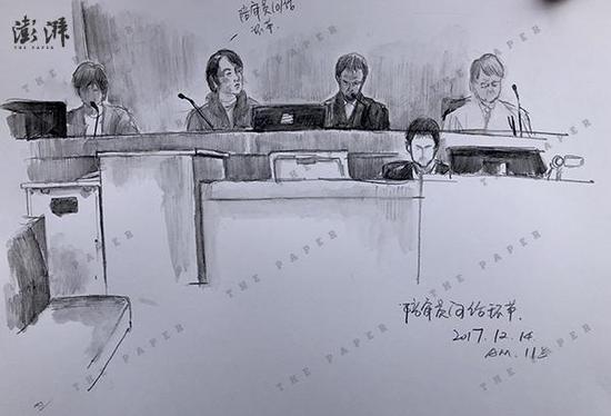 江歌案庭审第五日:陈世峰自称作案后被吓尿裤