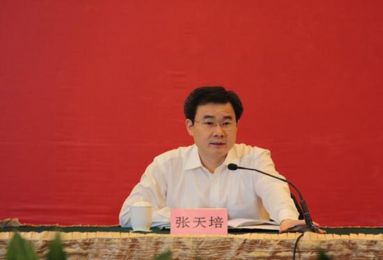 张天培 安徽省发展和改革委员会网站 资料图