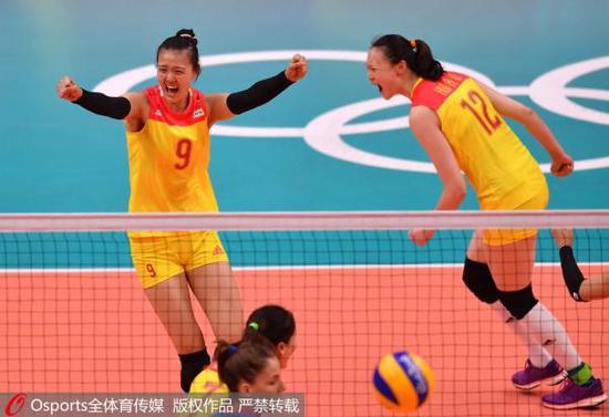 里约奥运,惠若琪完成绝杀。Osports 资料图