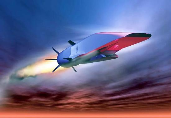 ▲高超音速武器设想图(美国国防部网站)