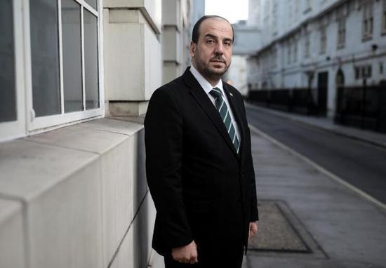 叙利亚反对派首席谈判代表。来源:路透社
