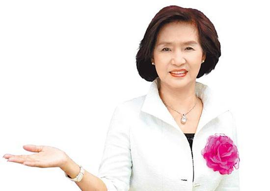 国民党宜兰县长候选人林姿妙。(图片来源:台湾《中时电子报》)
