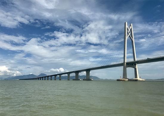 港珠澳大桥 东方IC 图
