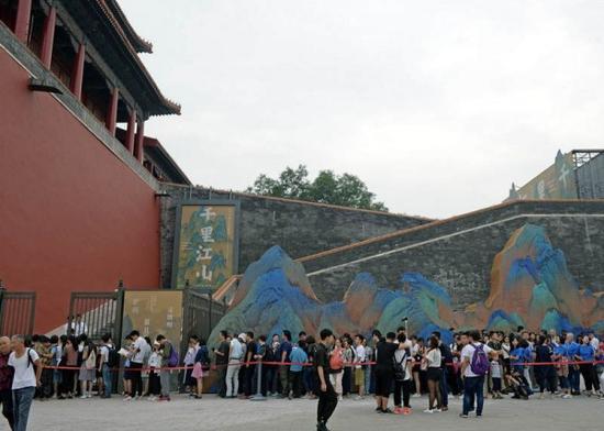 故宫博物馆的大展吸引的观众越来越多
