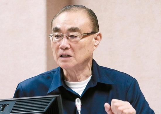 台湾防务部门负责人冯世宽