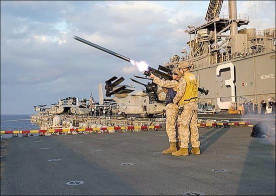 美媒称,美国准备交付250枚'毒刺'导弹弹给台湾。(图片来源:台媒)