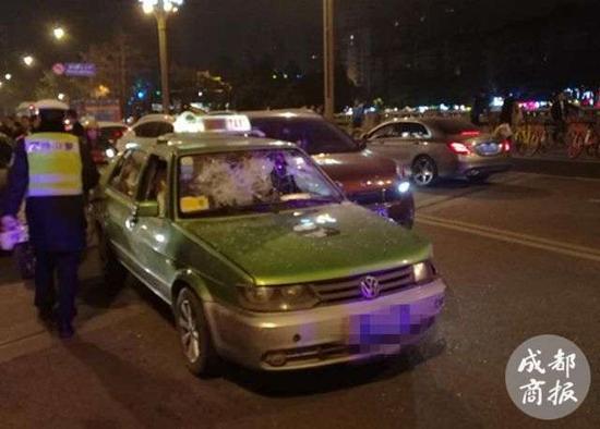 ▲肇事的克隆出租车
