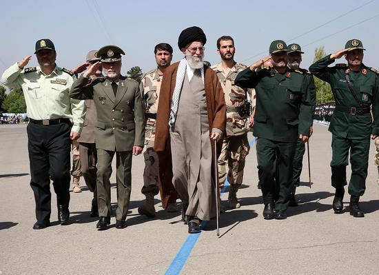 """伊朗军队欲助警察平乱:将应对美""""撒旦""""的欺骗"""