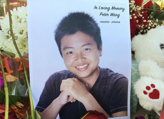 15岁的华裔少年王蒙杰,在美国佛罗里达枪击案中为救人遇难