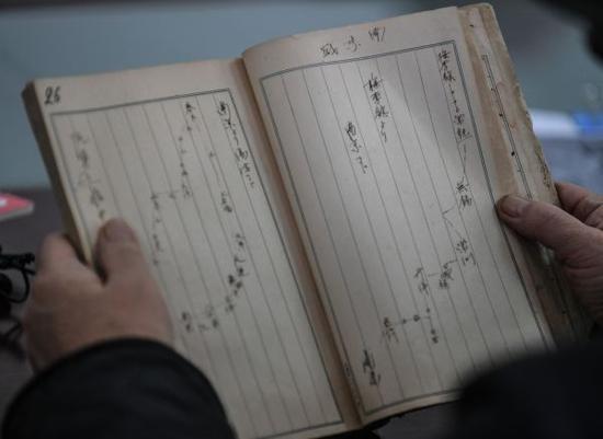 参与过南京大屠杀的侵华日军的日记。新华社