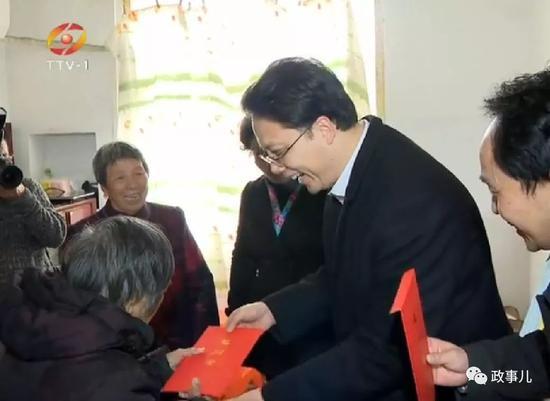 澳门mg电子游艺:全国最年轻市长的特别开局:春节赴9地开展调研