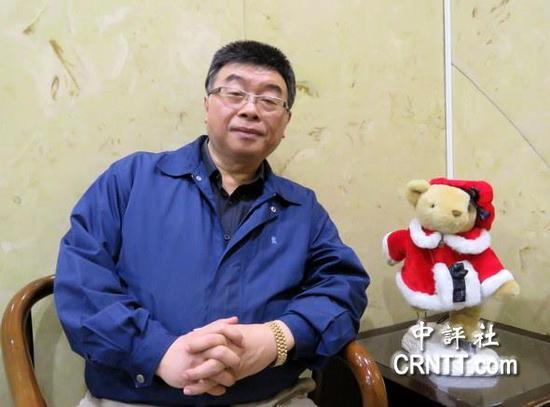 """国民党前""""立委""""邱毅(图片来源:中评社)"""