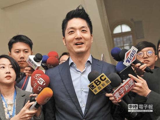 蒋万安:向吴敦义说明不选台北市长后,吴并未挽留。(图片来源:台湾《中时电子报》)