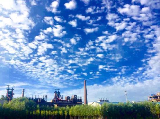 德龙钢铁厂区