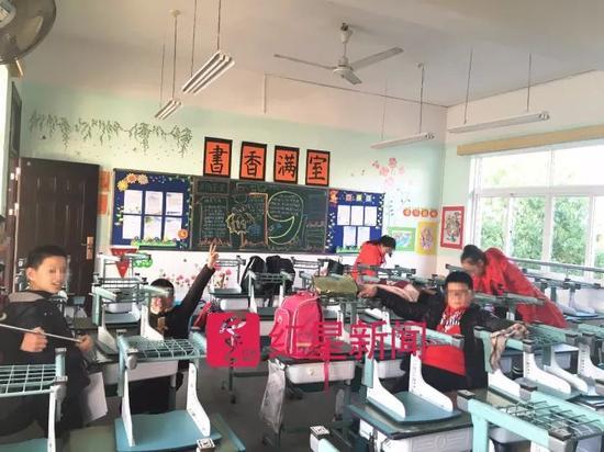▲602班的部分学生们 图片来源:红星新闻