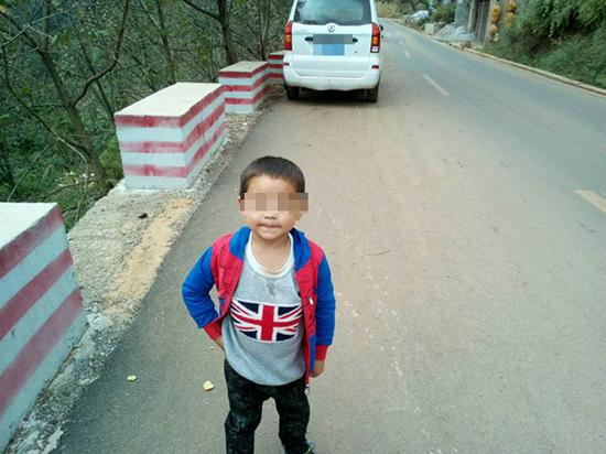 陈才本家最小的孩子。 本文图片均为受访者供图