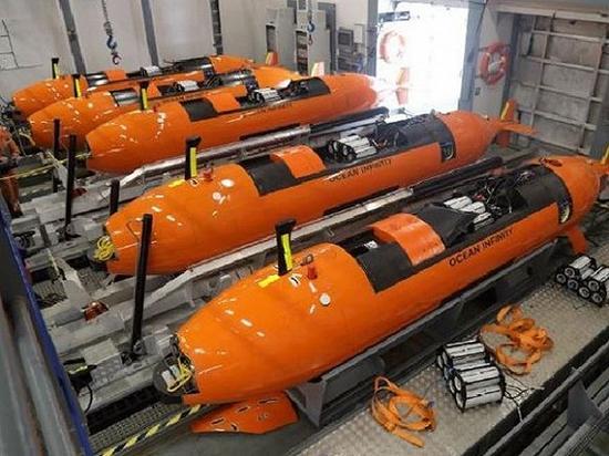 无人驾驶潜艇。图片来源:网络