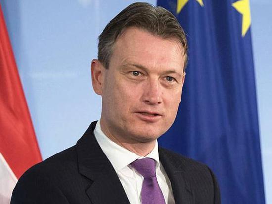荷兰外交大臣哈尔伯·泽尔斯特拉。(图片来源:新华社)