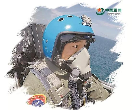 ▲中国航母舰载战斗机飞行员(中国军网)