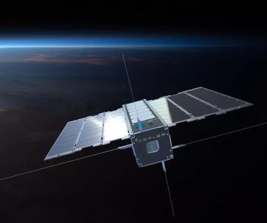 ▲加拿年夜开普勒通信公司卫星模仿图