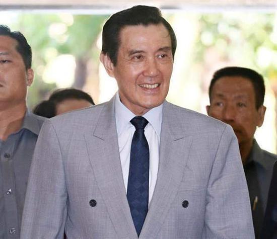 台湾地区前领导人马英九。(图片来源:台湾《中时电子报》)