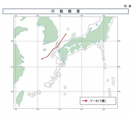 ▲军机飞行路线示意图
