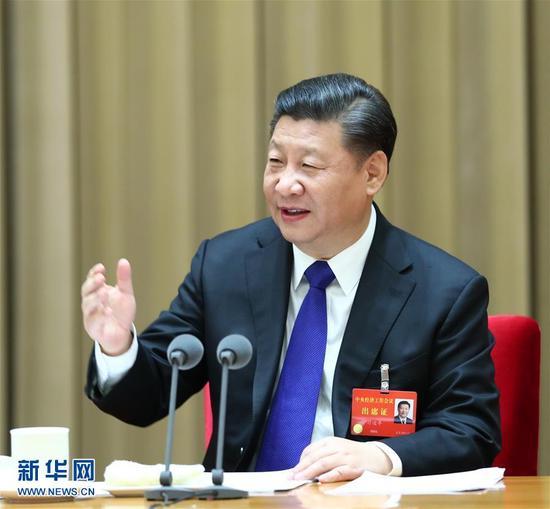 12月18日至20日,中央经济工作会议在北京举行。******************中央总书记、国家主席、中央军委主席习近平发表重要讲话。新华社记者 谢环驰 摄