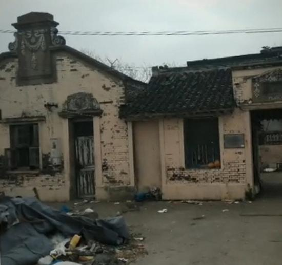 三林久丰村徐氏古宅。 图片均来自微博网友@上海的���0