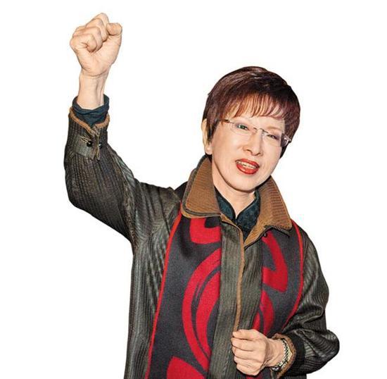 国民党基层力拱洪秀柱参选台北市长。(图片来源:台湾《中国时报》)